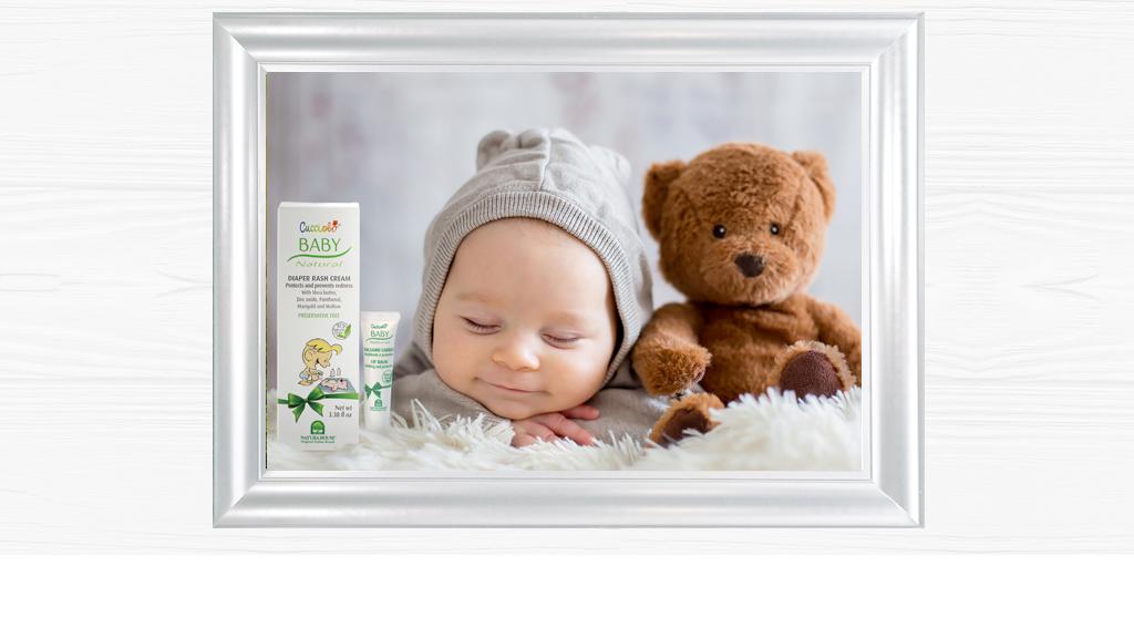 Linea Completa Speciale, Sicura e Delicata per la cura e l'igiene della pelle del Tuo Bambino, il Tuo dono più prezioso.