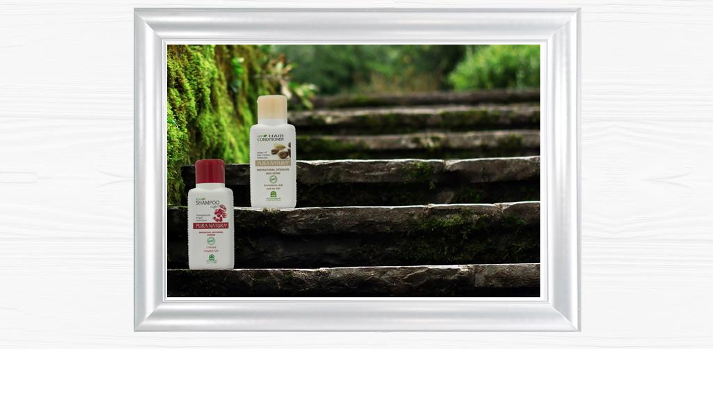 Da sempre Natura House formula e produce prodotti per la cura del capello utilizzando materie prime naturali.Questa linea, oltre ad avere tutti i vantaggi di efficacia e naturalità soliti dei nostri prodotti, rappresenta l'inizio della sfida ecologica dell'azienda. Abbiamo eliminato la scatoletta di cartone che normalmente appena arrivata a casa viene destinata al macero, e, soprattutto, La bottiglia è stataottenuta da plastica vegetale da canna da zucchero e non da petrolio.